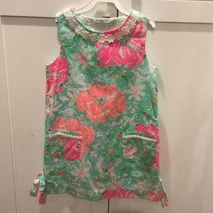 Lilly Pulitzer shift dress.